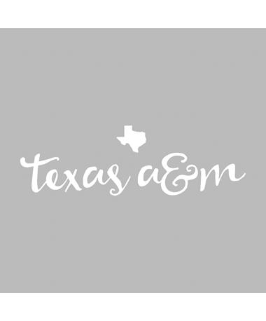 Texas A&M Curly Cue Decal