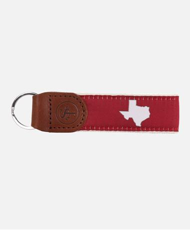State Traditions Texas Maroon Key Fob Maroon