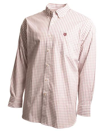 Southern Tide Texas A&M Game Day Tattersall Button Down Shirt Chianti