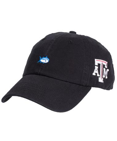Texas A&M Southern Tide Gameday Hat - Black - Front Black