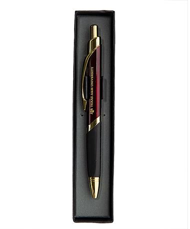 Texas A&M Aggie Triangle Pen Burgundy/Gold