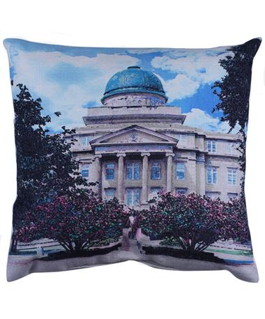 Texas A&M Academic Building Watercolor Pillow Multi
