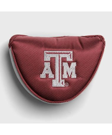 Texas A&M Aggie Mallet Putter Cover Maroon