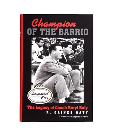 Champion Of The Barrio Autographed Copy Multi