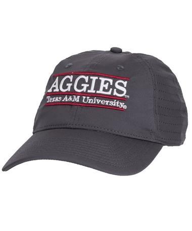 Texas A&M Aggies Bar Game Changer Cap Front GRAPHitE