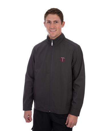 Texas A&M Tommy Bahama Ace Flier Jacket Grey