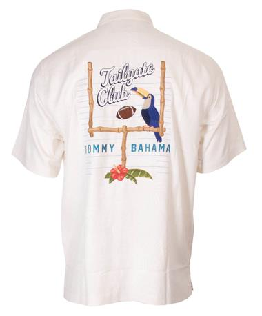 Texas A&M Tommy Bahama Tailgate Button Down White