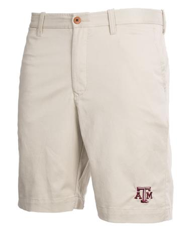 Tommy Bahama Texas A&M Offshore Shorts Khaki Sands