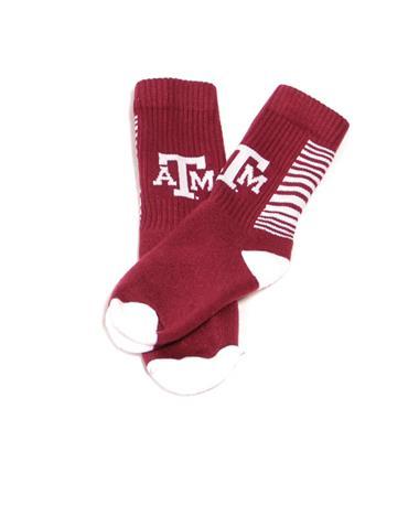 Speed Texas A&M Full Cushion Crew Socks Maroon