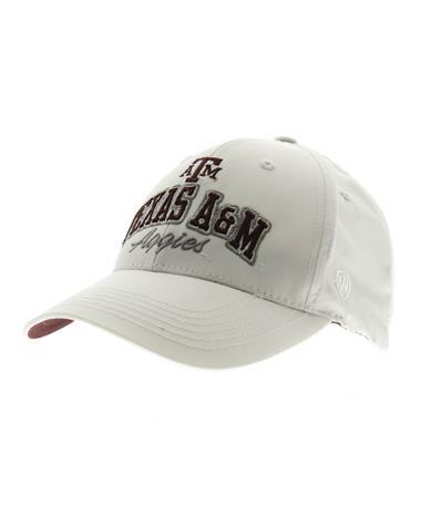 Texas A&M Advisor Adjustable Snapback White