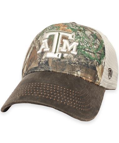 Texas A&M RealTree Camo Logger Cap Real Tree Xtra