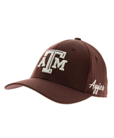 Texas A&M Aggies Phenom Fitted-side Maroon