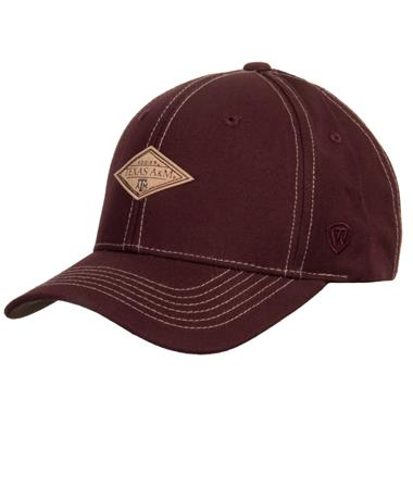 Texas A&M Springlake Adjustable Snapback Maroon