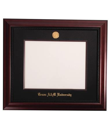 CUSTOM ORDER ITEM: University Frames Texas A&M Executive Black Diploma Frame