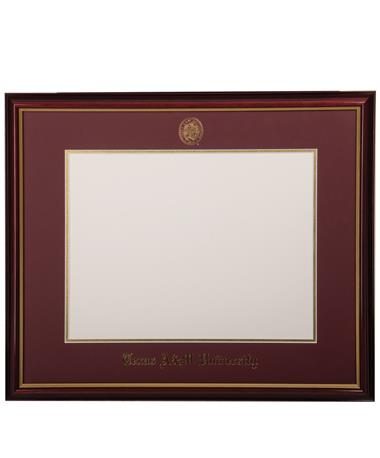 CUSTOM ORDER ITEM: University Frames Texas A&M Petite Diploma Frame