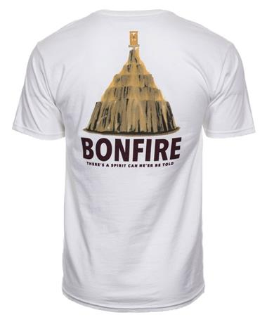 Spirit Tradition Bonfire T-Shirt - Back White
