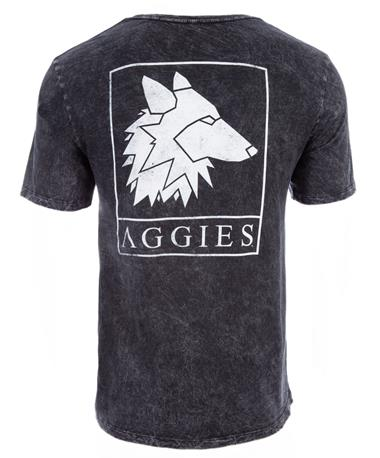 Texas A&M Aggies Reveille Sigil T-Shirt - Back Black