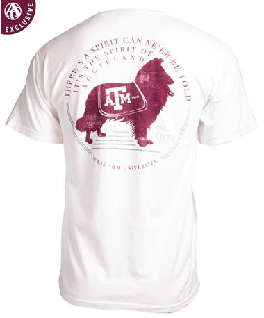 Texas A&M Miss Reveille Spirit T-Shirt White