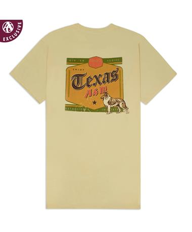 Texas A&M Aggie Kosmos Shine T-Shirt - Back Butter