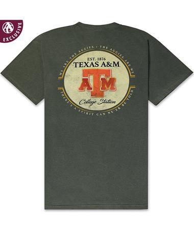 Texas A&M Dos Aggies T-Shirt - Back Hemp