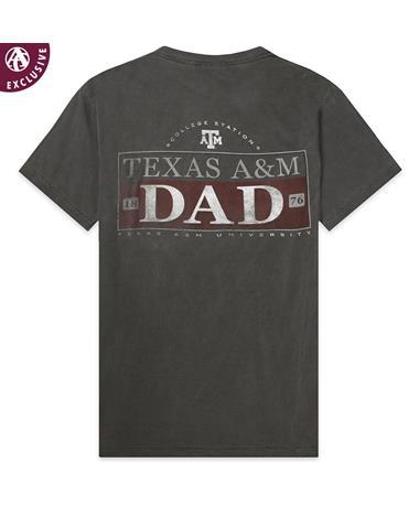 Texas A&M Aggie 1876 Dad T-Shirt