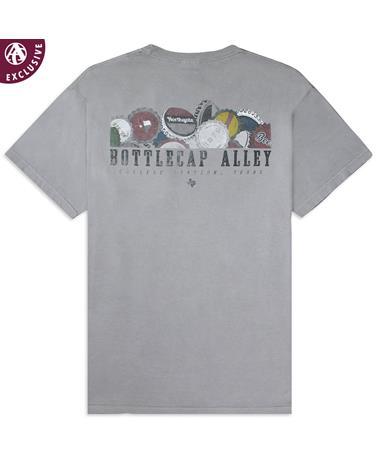 Texas A&M Bottlecap Alley Northgate T-Shirt