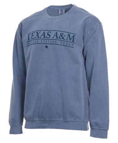 Texas A&M Aggie Blue Jean Sweatshirt Blue Jean
