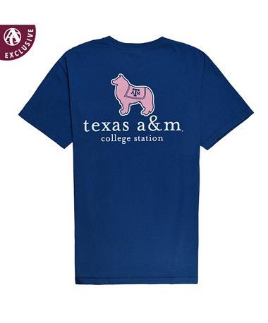 Texas A&M Reveille Vineyard T-Shirt