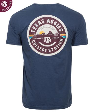 Texas A&M Welcome To Aggieland T-Shirt Midnight