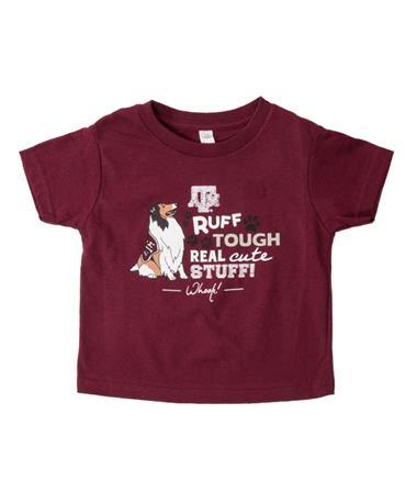 Texas A&M Rough Tough Real Cute Toddler Maroon