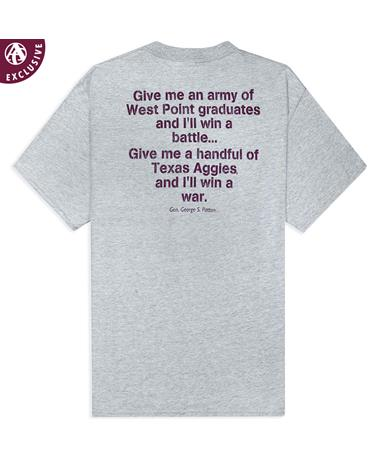 Texas A&M General Patton Quote T-Shirt