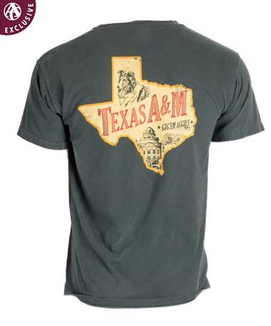 Texas A&M Aggie Texas Bock T-Shirt Willow