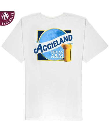 Texas A&M Aggie Maroon Moon T-Shirt Ivory