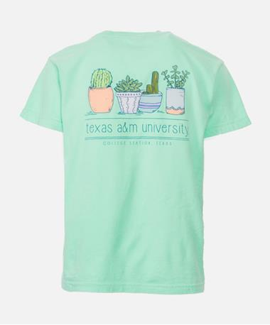 Youth Texas A&M Can`t Touch This Cactus T-Shirt - Back Island Reef