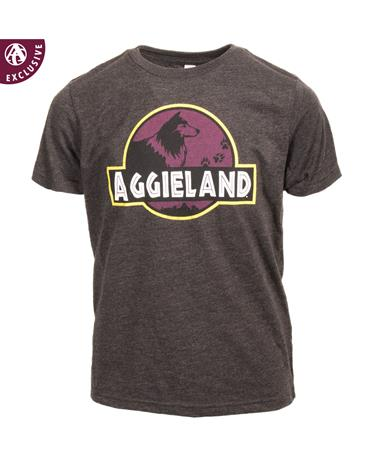 Texas A&M Youth Dinosaur Reveille T-Shirt