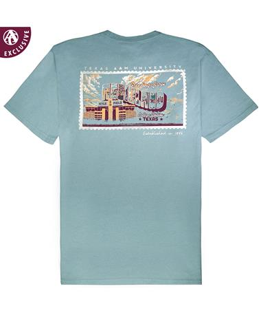 Texas A&M Greetings from Aggieland T-Shirt - Back Coastal
