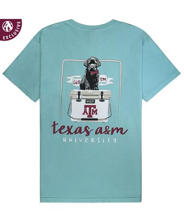 Texas A&M Black Lab Puppy Cooler Tee