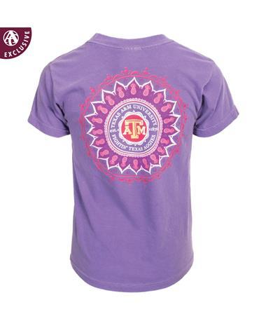 Texas A&M Youth Pineapple Henna T-Shirt