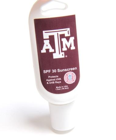 Texas A&M Aggie Sunscreen Travel Size Multi