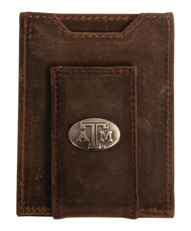 Crazy Horse Pocket Wallet Light Brown