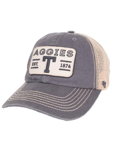 `47 Brand Texas A&M Sallana Clean Up Front Vintage Navy