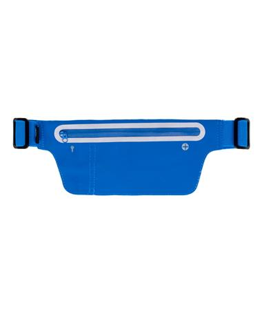 Blue Water Resistant Fanny Pack - Front BLUE