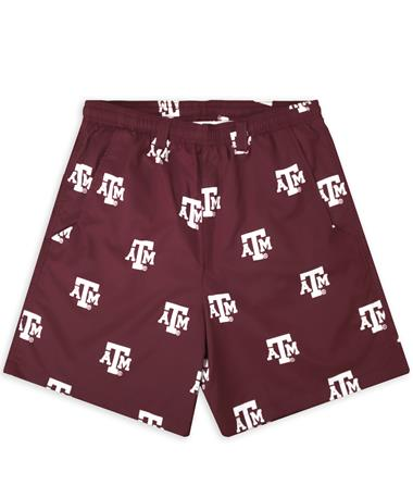 Texas A&M Columbia Backcast II Swim Trunks