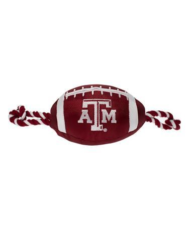 Texas A&M Aggies Pet Nylon Football MAROON