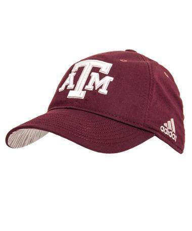 Adidas Texas A&M Aggies Slouch Flex Hat Maroon