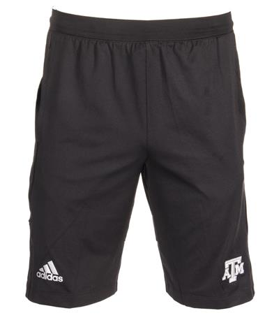 Adidas Climalite Texas A&M Primary Logo Shorts Black