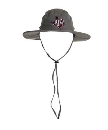 Adidas Texas A&M Aggies Safari Hat - Worn Grey