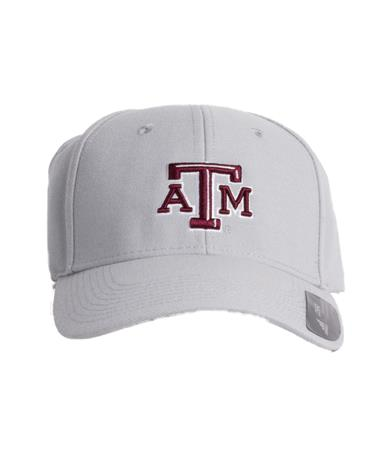 2018 Texas A&M Beveled Structured Adjustable Cap Grey