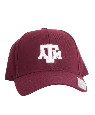 2018 Texas A&M Beveled Structured Adjustable Cap Maroon
