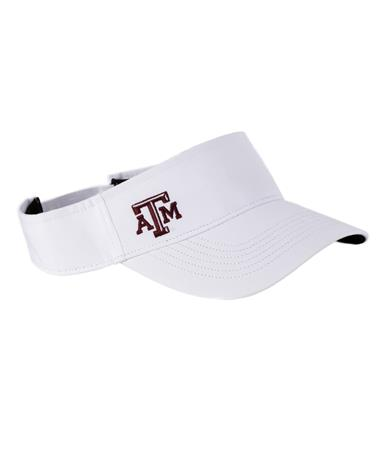 `47 Brand 2018 Texas A&M Repetition Visor - Front White